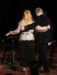 Meryl Streep & Kevin Kline .pictured during Curtain Call for the Public Theater Celebrates 50 Years at the Delacorte Theater with a Benefit Reading of ''Romeo And Juliet'  in Central Park, New York City on June 18, 2012