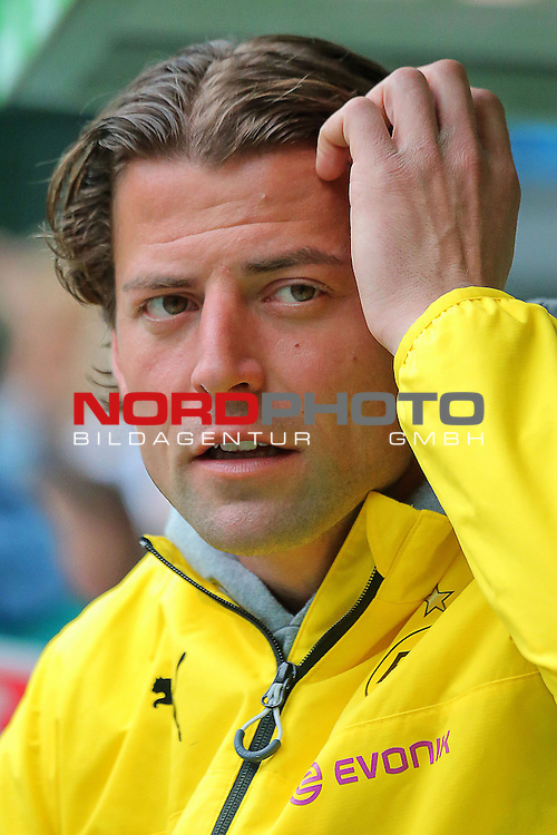 16.05.2015 Volkswagen Arena, Wolfsburg, GER, 1.FBL, VfL Wolfsburg vs Borussia Dortmund, im Bild <br /> <br />  TW Roman Weidenfeller #1<br /> <br /> Foto &copy; nordphoto / Rust