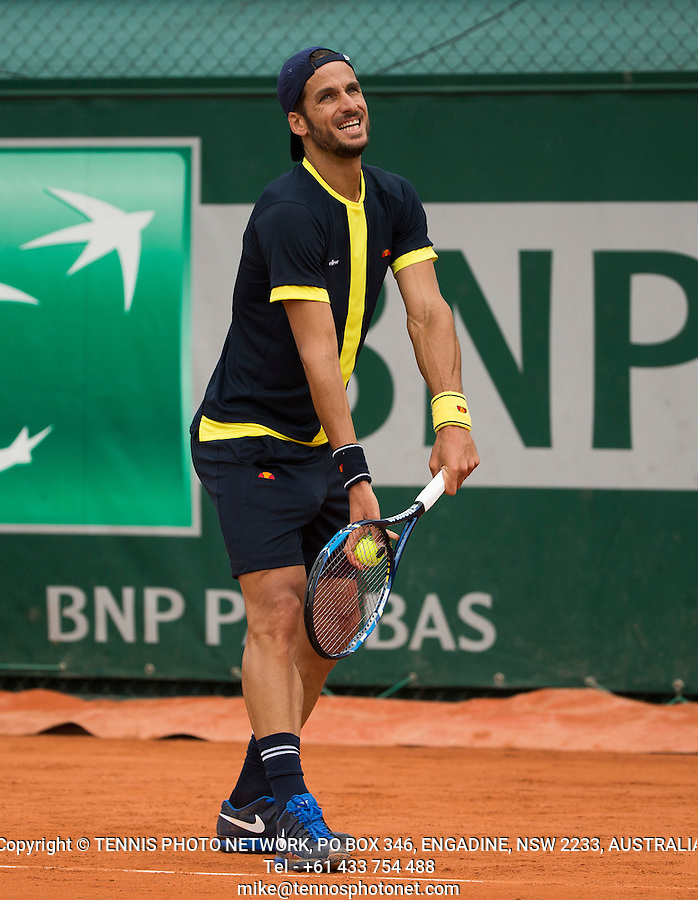 FELICIANO LOPEZ (ESP)<br /> <br /> TENNIS - FRENCH OPEN - ROLAND GARROS - ATP - WTA - ITF - GRAND SLAM - CHAMPIONSHIPS - PARIS - FRANCE - 2016  <br /> <br /> <br /> <br /> &copy; TENNIS PHOTO NETWORK