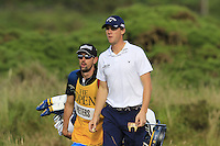 Thomas Pieters (BEL) walks to the 14th green during Thursday's Round 1 of the 145th Open Championship held at Royal Troon Golf Club, Troon, Ayreshire, Scotland. 14th July 2016.<br /> Picture: Eoin Clarke | Golffile<br /> <br /> <br /> All photos usage must carry mandatory copyright credit (&copy; Golffile | Eoin Clarke)