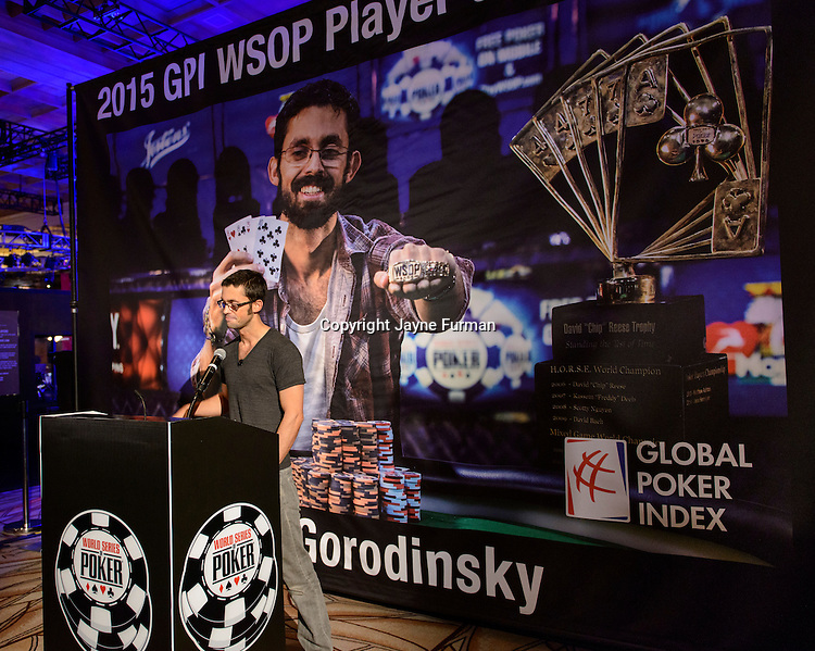 Mike Gorodinsky 2015 GPI WSOP POY SUAD Day 1A Main Event