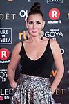 Belen Lopez attends red carpet of Goya Cinema Awards 2018 at Madrid Marriott Auditorium in Madrid , Spain. February 03, 2018. (ALTERPHOTOS/Borja B.Hojas)
