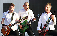 Status Quo on stage at BBC Radio 2 Live in Hyde Park event, Hyde Park, London on Sunday September 15th 2019<br /> <br /> Photo by Keith Mayhew