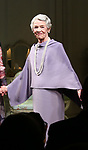 """Glenda Jackson during the Opening Night Curtain Call for """"Three Tall Women"""" at the Golden Theatre on 3/29/2018 in New York City."""