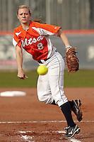 SAN ANTONIO, TX - FEBRUARY 14, 2012: The Texas Southern University Tigers vs. The University of Texas at San Antonio Roadrunners Softball at the UTSA Roadrunner Softball Field. (Photo by Jeff Huehn)