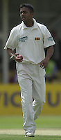 31/05/2002.Sport -Cricket - 2nd NPower Test -Second Day.England vs Sri Lanka.Chaminda Vaas. [Mandatory Credit Peter Spurrier:Intersport Images]