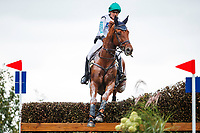AUS-Samantha Birch rides Finduss PFB during the Cross Country for the CCIO4*-L FEI Nations Cup Eventing. 2019 Military Boekelo-Enschede International Horse Trials. Saturday 12 October. Copyright Photo: Libby Law Photography