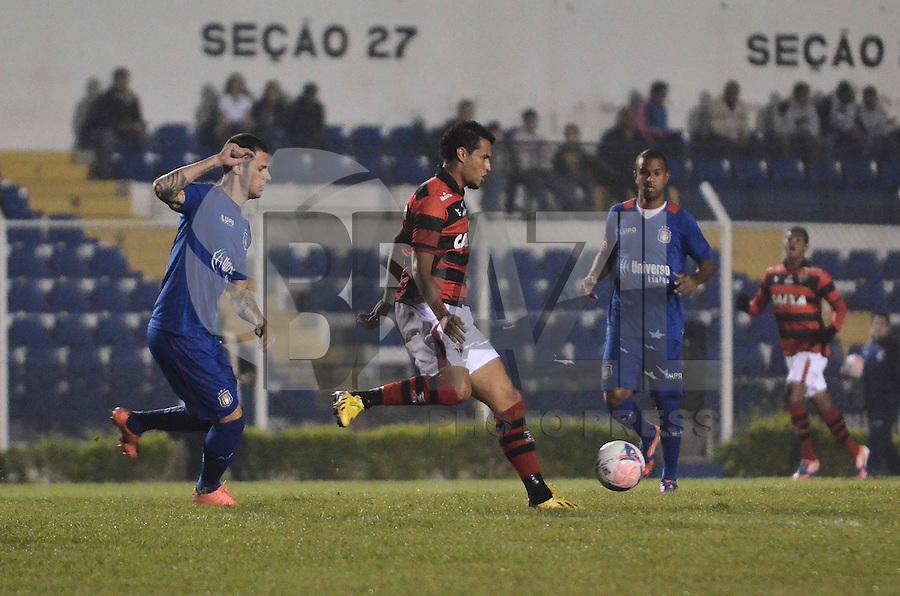 SAO CAETANO, SP, 01 de junho 2013- (BRASILEIRAO SERIE B) Lancel durante partida entre Sao Caetano x Atletico Go no Estadio Anacleto Campanella em Sao Caetano do Sul,ABC - FOTO:ADRIANO LIMA / BRAZIL PHOTO PRESS).