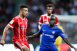 Bayern Munich Midfielder Corentin Tolisso (L) plays against Chelsea Midfielder N'Golo Kante (R) during the International Champions Cup match between Chelsea FC and FC Bayern Munich at National Stadium on July 25, 2017 in Singapore. Photo by Marcio Rodrigo Machado / Power Sport Images