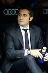 Athletic de Bilbao's coach Ernesto Valverde during La Liga match. February 13,2016. (ALTERPHOTOS/Acero)