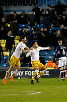 GOAL - Joey Pelupessy of Sheffield Wednesday gives the visitors the lead during the Sky Bet Championship match between Millwall and Sheff Wednesday at The Den, London, England on 20 February 2018. Photo by Carlton Myrie.