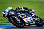 The rider Alex Marquez during Moto3 race in Valencia. 2014/11/09. Spain. Samuel de Roman / Photocall3000.