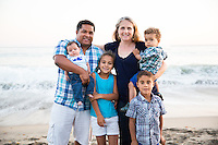 Family of Six Portrait Session