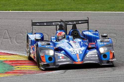 02.05.2015.  Spa-Francorchamps, Belgium. World Endurance Championship Round 2. Signatech Alpine LMP2 Alpine A450B driven by Nelson Panciatici, Paul-loup Chatin and Vincent Capillaire.
