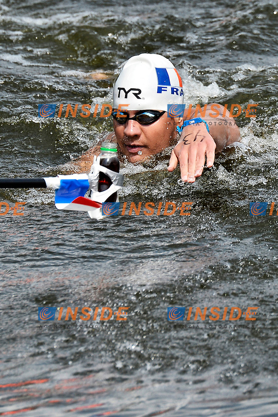 Axel Reymond France Gold Medal <br /> Open Water 25Km <br /> 32nd LEN European Championships  <br /> Berlin, Germany 2014  Aug.13 th - Aug. 24 th<br /> Day05 - Aug. 17<br /> Photo Andrea Staccioli/Deepbluemedia/Insidefoto