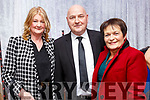 Oskars: Attending the Oskars at the Listowel Celtic fund raiser at the Listowel Community Centre on Saturday night last Were Eileen O'Sullivan, Liam Kennedy, Chairman Listowel Celtic and his wife Anne Kennedy.