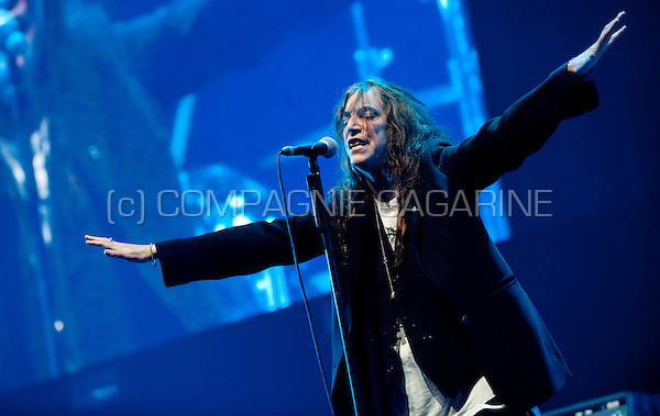 American singer-songwriter Patti Smith in concert at the Sinner's Day festival in Hasselt (Belgium, 30/10/2011)