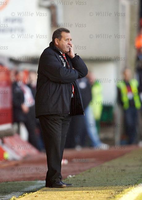 Jimmy Calderwood, Aberdeen.stock season 2006-2007.pic willie vass