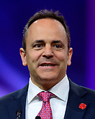 Governor Matt Bevin (Republican of Kentucky) speaks at the Conservative Political Action Conference (CPAC) at the Gaylord National Resort and Convention Center in National Harbor, Maryland on Friday, March 1, 2019.<br /> Credit: Ron Sachs / CNP