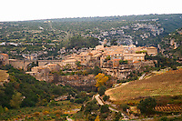 Minerve village Minervois. Languedoc. France. Europe.