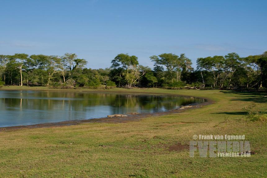 Ndumo Nyamithi Pan..May, Winter 2009..Ndumo Game Reserve, Kwazulu-Natal, South Africa.