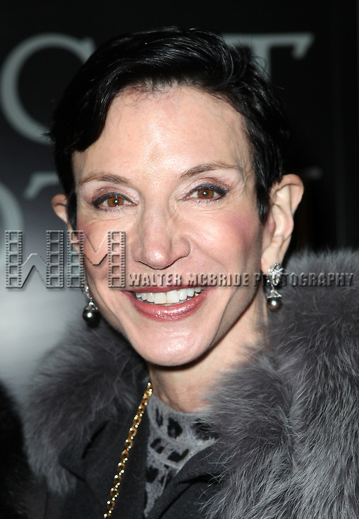 Amy Fine Collins attending the Broadway Opening Night Performance of 'Cat On A Hot Tin Roof' at the Richard Rodgers Theatre in New York City on 1/17/2013