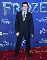 """07 November 2019 - Hollywood, California - Jason Ritter. Disney's """"Frozen 2"""" Los Angeles Premiere held at Dolby Theatre.        <br /> CAP/ADM/BT<br /> ©BT/ADM/Capital Pictures"""