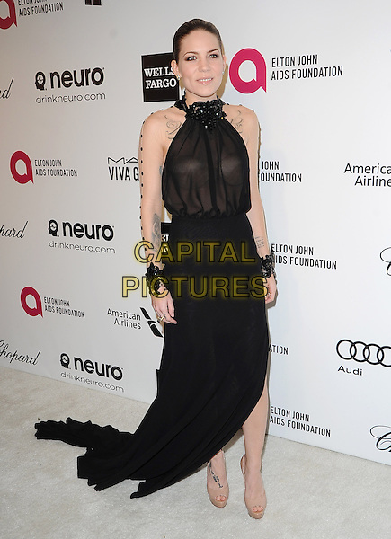 Skylar Grey  attends the 2014 Elton John AIDS Foundation Academy Awards Viewing Party in West Hollyood, California on March 02,2014                                                                               <br /> CAP/DVS<br /> &copy;DVS/Capital Pictures