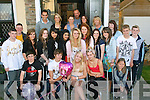 Laura Flaherty(seated centre)from Rockpark Av,Tralee,celebrated her 16th birthday last Monday evening at her home,together with loads of friends and family.