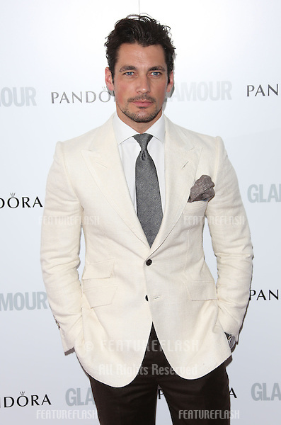 David Gandy arriving for the 013 Glamour Women of The Year Awards, Berkeley Square, London. Picture by: Henry Harris / Featureflash
