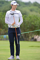 Sung Hyun Park (KOR) watches her tee shot on 9 during round 2 of  the Volunteers of America Texas Shootout Presented by JTBC, at the Las Colinas Country Club in Irving, Texas, USA. 4/28/2017.<br /> Picture: Golffile | Ken Murray<br /> <br /> <br /> All photo usage must carry mandatory copyright credit (&copy; Golffile | Ken Murray)