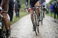 &quot;La Machine boue&quot; <br /> The Mud Machine<br /> <br /> 2014 Tour de France<br /> stage 5: Ypres/Ieper (BEL) - Arenberg Porte du Hainaut (155km)