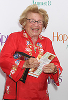 NEW YORK, NY - AUGUST 6, 2012: Dr.Ruth at the 'Hope Springs' premiere at the SVA Theater on August 6, 2012 in New York City. &copy;&nbsp;RW/MediaPunch Inc. /NortePhoto.com<br />