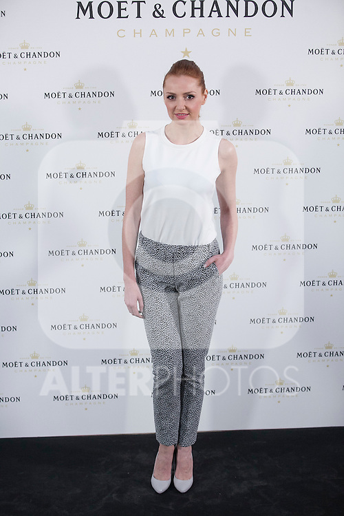 Cristina Castano poses during Moet & Chandon event in Madrid, Spain. May 05, 2015. (ALTERPHOTOS/Victor Blanco)