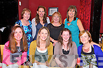 Lisa Carolyn from Tonevane (seated 3rd from left) celebrating her engagement to Philip Lawlor. here with friends at Ristorante Uno on Thursday. pictured front l-r  Siobhan Kearney, Linda O'Brien, Lisa Carolyn, Kay O'Connor, back l-r Liz Furlong, Bernie O'Regan, Kathleen Quirke, Eva Walsh.