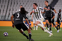 Adrien Rabiot of Juventus in action during the Champions League round of 16 second leg football match between Juventus FC and Lyon at Juventus stadium in Turin (Italy), August 7th, 2020. <br /> Photo Federico Tardito / Insidefoto