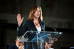 Kathleen Kennedy at press conference for The Academy Museum of Motion Pictures which is under construction in Los Angeles, CA and scheduled for completion in 2019.