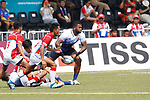 Tuqiri Lote (JPN), <br /> AUGUST 30, 2018 - Rugby : <br /> Men's Group B match <br /> between Japan 92-0 Idonesia <br /> at Gelora Bung Karno Rugby Field <br /> during the 2018 Jakarta Palembang Asian Games <br /> in Jakartan, Idonesia. <br /> (Photo by Naoki Morita/AFLO SPORT)