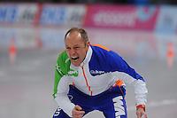 SCHAATSEN: BERLIJN: Sportforum, 08-12-2013, Essent ISU World Cup, Gerard Kemkers (trainer/coach TVM schaatsploeg), ©foto Martin de Jong