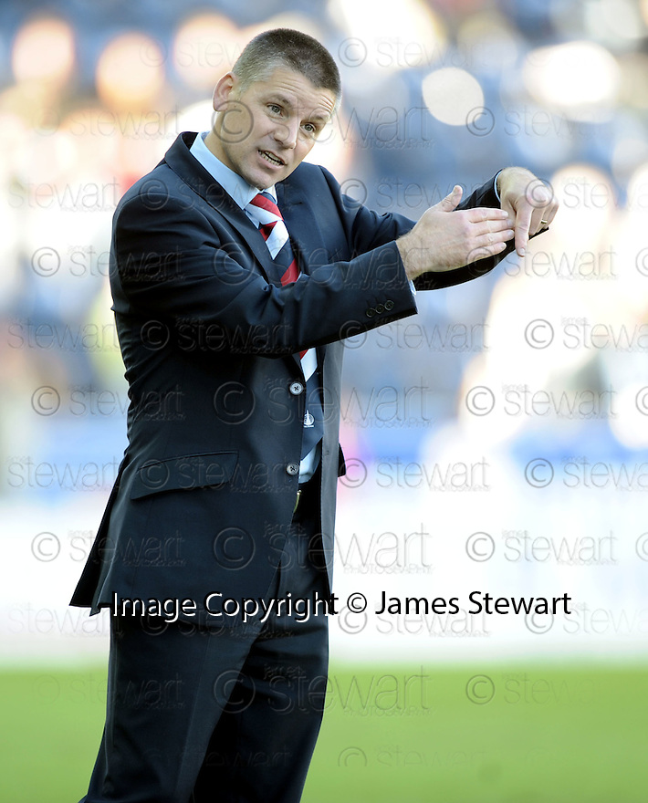26/09/2009  Copyright  Pic : James Stewart.sct_jspa11_falkirk_v_kilmarnock  .FALKIRK MANAGER EDDIE MAY DURING THE GAME AGAINST KILMARNOCK.James Stewart Photography 19 Carronlea Drive, Falkirk. FK2 8DN      Vat Reg No. 607 6932 25.Telephone      : +44 (0)1324 570291 .Mobile              : +44 (0)7721 416997.E-mail  :  jim@jspa.co.uk.If you require further information then contact Jim Stewart on any of the numbers above.........