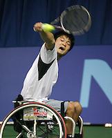 16-11-07, Netherlands, Amsterdam, Wheelchairtennis Masters 2007, Kunieda