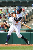 Trenton Thunder infielder Andrew Clark (49) during game against the Reading Fightin Phils at ARM & HAMMER Park on July 8, 2013 in Trenton, NJ.  Trenton defeated Reading 10-6.  (Tomasso DeRosa/Four Seam Images)