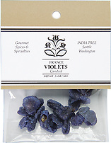 Candied Whole Violets