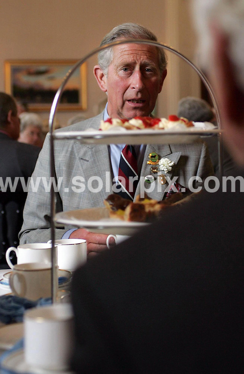 **ALL ROUND PICTURES FROM SOLARPIX.COM**.The Prince of Wales and the Duchess of Cornwall attended the annual Battle of Britain Fighter Association summer gathering.This pic: Prince Charles..JOB REF:  4104  NLA   DATE: 19.06.07.**MUST CREDIT SOLARPIX.COM OR DOUBLE FEE WILL BE CHARGED* *UNDER NO CIRCUMSTANCES IS THIS IMAGE TO BE REPRODUCED FOR ANY ONLINE EDITION WITHOUT PRIOR PERMISSION*