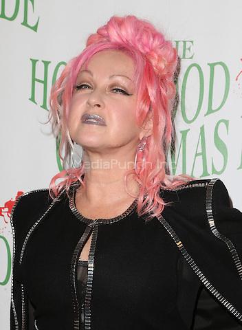 Hollywood, CA - NOVEMBER 27: Cyndi Lauper, At 85th Annual Hollywood Christmas Parade At Hollywood Blvd, California on November 27, 2016. Credit: Faye Sadou/MediaPunch