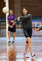 10.10.2017 Silver Ferns Kayla Cullen in action during the  Silver Ferns training in Adelaide. Mandatory Photo Credit ©Michael Bradley.