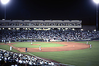 Ballparks: Sacramento Raley Field--night game.