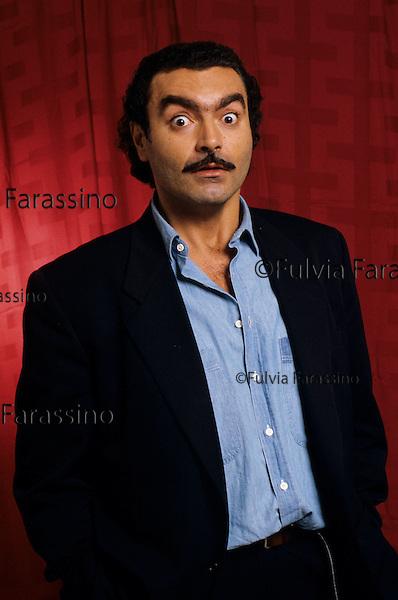 Milano, 1985 circa, Diego Abatantuono, Milan, about 1985