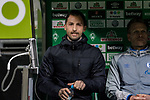 08.03.2019, Weserstadion, Bremen, GER, 1.FBL, Werder Bremen vs FC Schalke 04<br /> <br /> DFL REGULATIONS PROHIBIT ANY USE OF PHOTOGRAPHS AS IMAGE SEQUENCES AND/OR QUASI-VIDEO.<br /> <br /> im Bild / picture shows<br /> Domenico Tedesco (Trainer FC Schalke 04) auf Trainerbank, <br /> <br /> Foto &copy; nordphoto / Ewert