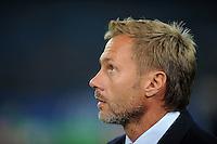 FUSSBALL   1. BUNDESLIGA   SAISON 2011/2012    11. SPIELTAG Hamburger SV - 1. FC Kaiserslautern                          30.10.2011 Trainer Thorsten FIINK (Hamburg)